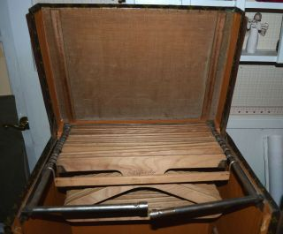 Early 1900 ' s Louis Vuitton Upright Wardrobe Trunk 6