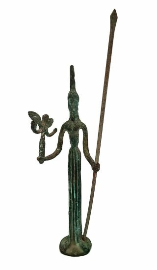 Statue Of The Goddess Of War Is Very Ancient,  Rare,  Height 28