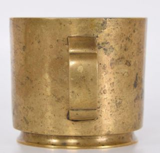 Chinese Ming or Early Qing Bronze Censer Incense Burner Cup Form Xuande Mark 8