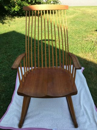 Thomas Moser Gloucester Rocker Rocking Chair Maine Cabinetmakers