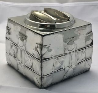 Very Fine Liberty & Co Tudric Pewter Biscuit Box By Archibald Knox 0194