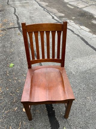 "Stickley 4 Dining Side Chairs - Solid Cherry - ""cottage"" Design"