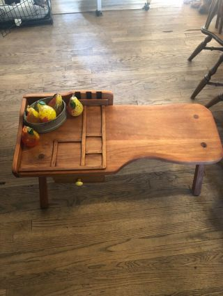 Vintage 1930s Cobblers Bench Made By Cushman Colonial Creations