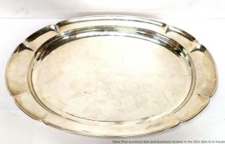 Antique Kalo Sterling Silver Chicago Arts Crafts Hand Hammered Tray Mohr 2