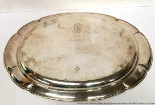 Antique Kalo Sterling Silver Chicago Arts Crafts Hand Hammered Tray Mohr 4