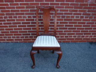 Henkel Harris Solid Cherry Queen Anne Style Dining Side Chair 1