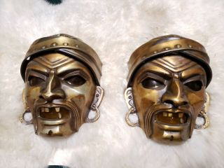 Pair 1930s Art Deco Pirate Coney Island Amusement Electric Wall Sconce