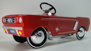 1964 Mustang Ford Pedal Car Vintage Gt Metal Read Full Listing Description Page