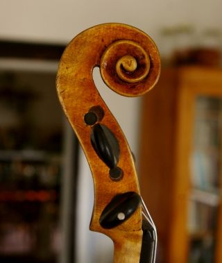 Violin Lab.  Carlo Antonio Teftore Milano 1740 Grafted Scroll,  Playable