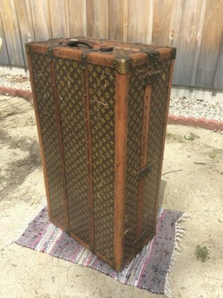 Louis Vuitton Travel Wardrobe Traveler Steamer Trunk