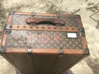 Louis Vuitton Travel Wardrobe Traveler Steamer Trunk 7