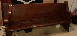 Church Pew Local Pick Up Only Please