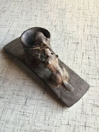 """Mississippian Culture Hopewell Platform Effigy Pipe """"museum Quality Artifact"""""""