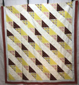 Dated 1853 Birds In Air Quilt