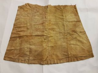 Chinese Imperial Robe Partial w/Two Imperial Dragon Roundels,  Yellow Liner,  19th C 11