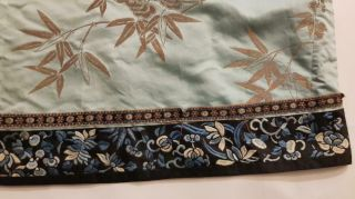 Chinese Embroidered Woman ' s Antique Robe With Prunus And Ruyi,  19th C 10