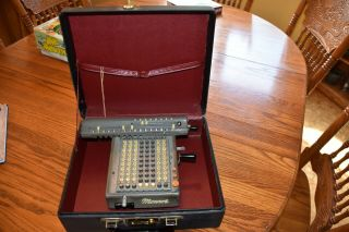 Monroe Adding Machine Calculator Model L160 - X