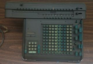Friden Adding Machine Model St Mechanical Calculator