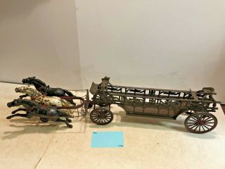 Vintage Toys,  Wilkins Hubley Ives Kenton Parts,  Dent Ladder Wagon,  Cast Iron