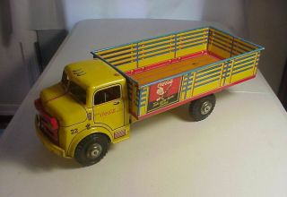 Marx Coca Cola Take Some Home Today Vintage Pressed Steel & Litho Tin Truck