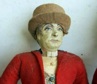 Extremely Rare C1920/40 Exceptional English Ottenberg Portrait Cloth Doll