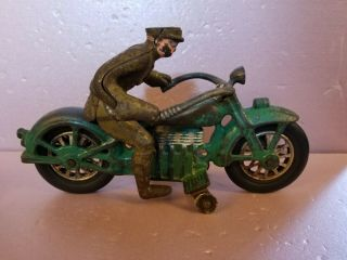 Rare All Vindex Cast Iron Henderson Cycle Arcade Hubley Kilgore.