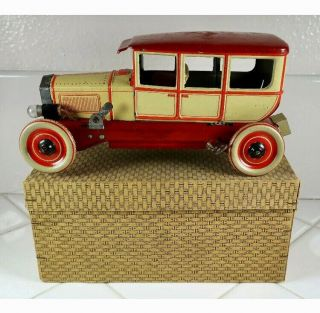 Tin Toys Germany Orobr Car Club Sedan Box: An Exceedingly Rare,