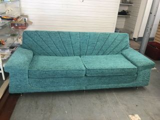 Mid Century Chesterfield Sofa And Chair