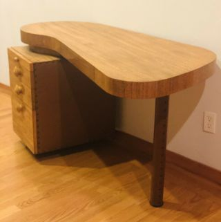 Gilbert Rohde Design For Herman Miller Desk