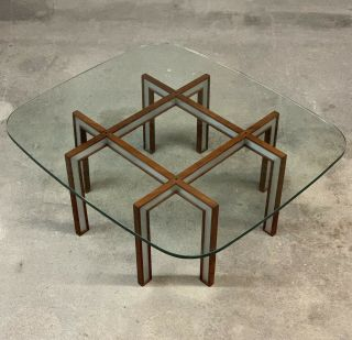 Danish Coffee Table By Henning Korch For C.  H.  Christensen Mid Century