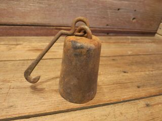 Vintage Antique Scale Weight 8 Pounds - Barn Found