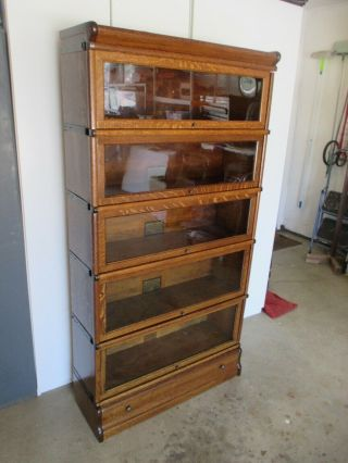 Antique Vintage Globe - Wernicke Lawyers Barrister Stacking Bookcase