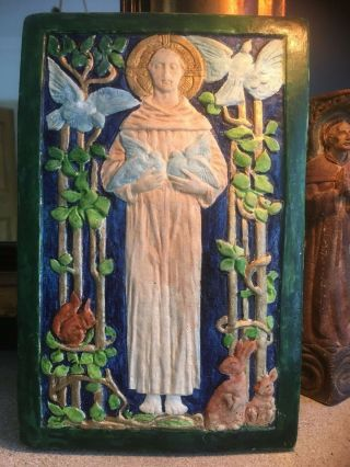 Compton Pottery St Francis Of Assisi