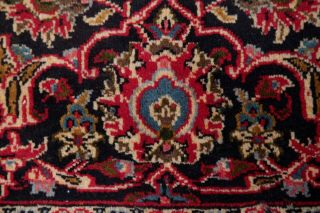 10x13 SEMI - ANTIQUE TRADITIONAL FLORAL ORIENTAL AREA RUG RED HAND - KNOTTED WOOL 9