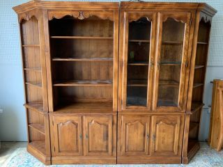 Ethan Allen Country French 6 Pc Bookcase Display System