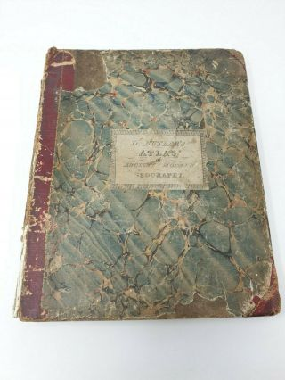 1825 Atlas Of Ancient And Modern Geography - Maps By Samuel Butler