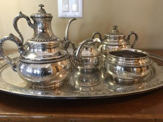 Gorham (whiting Manufacturing Sterling Silver Tea Service - Antique