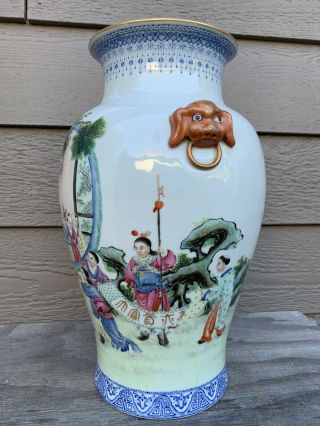 chinese antique porcelain Vase China Asian 2