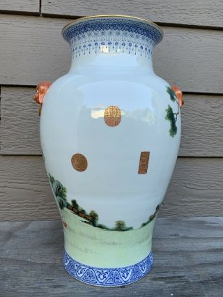 chinese antique porcelain Vase China Asian 3