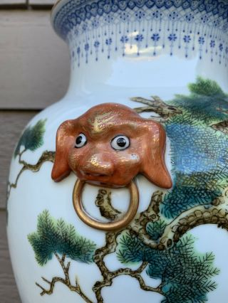 chinese antique porcelain Vase China Asian 5