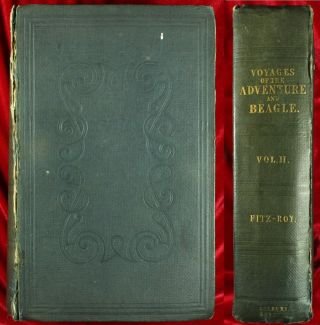Fitz - Roy Narrative Surveying Voyages Adventure & Beagle 1839 Darwin Plates1st Nr