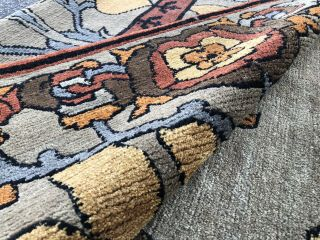 Auth: Vintage Voisey Arts And Crafts Rug TOP Quality Tufenkian Beauty 9x12 NR 10