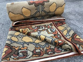 Auth: Vintage Voisey Arts And Crafts Rug TOP Quality Tufenkian Beauty 9x12 NR 12