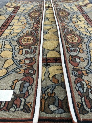 Auth: Vintage Voisey Arts And Crafts Rug TOP Quality Tufenkian Beauty 9x12 NR 9