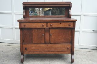 Antique Oak Sideboard / Buffet