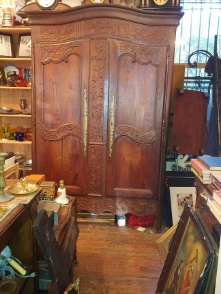 French Country Armoire Wardrobe Closet