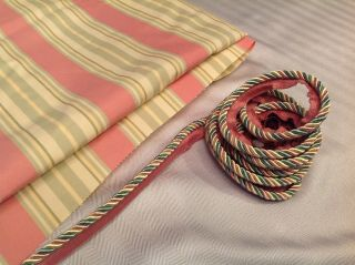 Mackenzie Childs Fabric and Coordinating Cording 3