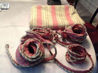Mackenzie Childs Fabric and Coordinating Cording 5