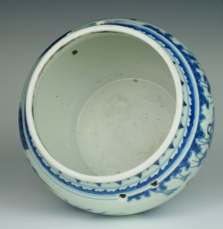 Fine & rare Chinese Transitional porcelain potiche with figures,  Chongzhen 1640 7