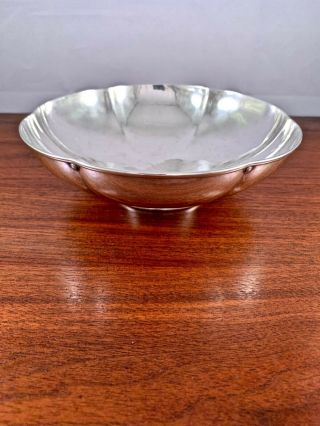 """Rare Tiffany & Co.  Arts & Crafts Sterling Silver """" Special Hand Work """" Bowl 1916"""